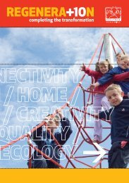 Timeline exhibition brochure - Ballymun Regeneration