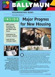 Major Progress for New Housing