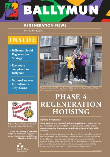 PHASE 4 REGENERATION HOUSING