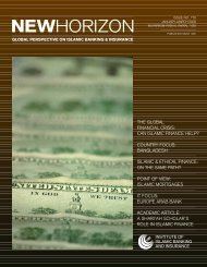 the global financial crisis: can islamic finance help? - Institute of ...