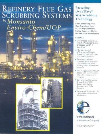 Refinery Flue Gas Scrubbing Systems – Brochure - DSD Chemtech