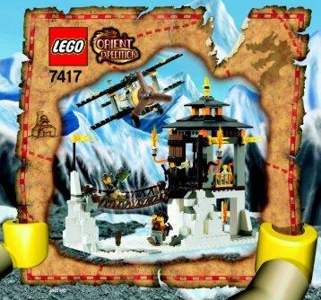 Lego Temple of Mount Everest 7417 - Temple Of Mount Everest 7417 Bi 7417 - 1