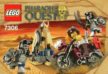 Lego Golden Staff Guardians 7306 - Golden Staff Guardians 7306 Bi 3001/24 - 7306 V 29/39 - 1