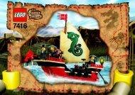 Lego Emperor's Ship 7416 - Emperor's Ship 7416 Bi 7416 - 1