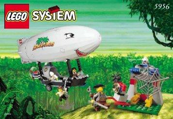 Lego AIR ZEPPELIN 5956 - Air Zeppelin 5956 Build. Inst. For 5956 - 1