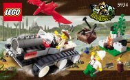 Lego Track Master 5934 - Track Master 5934 Build. Inst. For 5934 - 1