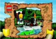 Lego Jungle River 7410 - Jungle River 7410 Bi 7410 - 1