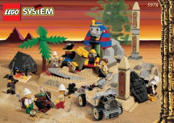 Lego The Secret of the Sphinx 5978 - The Secret Of The Sphinx 5978 Building Instr. 5978 - 1