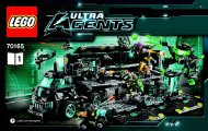Lego Ultra Agents Mission HQ 70165 - Ultra Agents Mission Hq 70165 Bi 3004/72+4*- 70165 Book 1 V29 - 1
