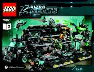 Lego Ultra Agents Mission HQ 70165 - Ultra Agents Mission Hq 70165 Bi 3019/80+4*- Book 2 V39 - 4