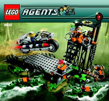Lego Swamp Raid 8632 - Swamp Raid 8632 Build Instr 3005, 8632 In - 1
