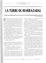 LA TORRE DE IRARRAIABAL