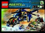 Lego Aerial Defense Unit 8971 - Aerial Defense Unit 8971 Bi 3006/72+4 - 8971-1/2 - 1