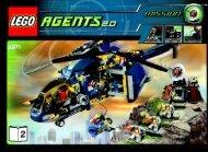 Lego Aerial Defense Unit 8971 - Aerial Defense Unit 8971 Bi 3006/72+4 - 8971-2/2 - 2