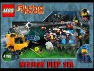 Lego Ogel Underwater Base and AT Sub 4795 - Ogel Underwater Base And At Sub 4795 Bi 4795 - 1