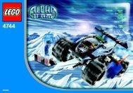 Lego Tundra Tracker 4744 - Tundra Tracker 4744 Bi, 4744 - 1