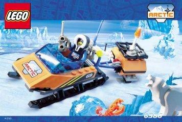 Lego Polar Scout 6586 - Polar Scout 6586 Building. Inst. For 6586/6569 - 1