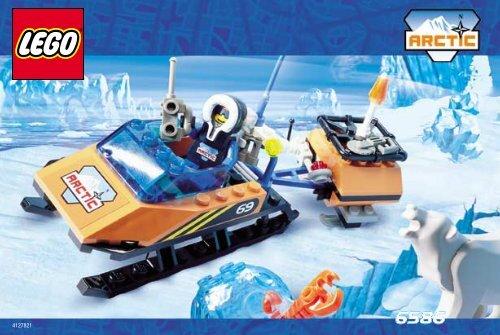 Lego POLAR EXPLORER 6569 - Polar Explorer 6569 Building. Inst. For 6586/6569 - 2