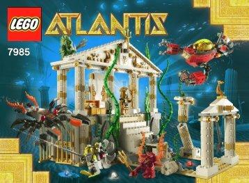 Lego City of Atlantis 7985 - City Of Atlantis 7985 Bi 3006/80+4 - 7985 V29/39 - 2