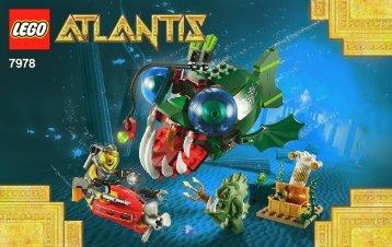 Lego Angler Attack 7978 - Angler Attack 7978 Bi 3004/48 - 7978 V 29 - 1
