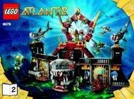 Lego Portal of Atlantis 8078 - Portal Of Atlantis 8078 Bi 3006/80+4 - 8078 V 29 2/2 - 3