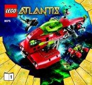Lego Neptune Carrier 8075 - Neptune Carrier 8075 Bi 3005/48 - 8075 V 29 1/2 - 1