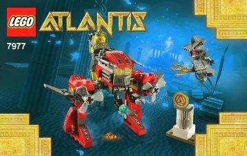 Lego Seabed Strider 7977 - Seabed Strider 7977 Bi 3003/24 - 7977 V29/39 - 1