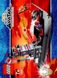 Lego Fire Nation Ship 3829 - Fire Nation Ship 3829 Bi 3829 V29 - 1