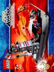 Lego Fire Nation Ship 3829 - Fire Nation Ship 3829 Bi 3829 V39 - 2