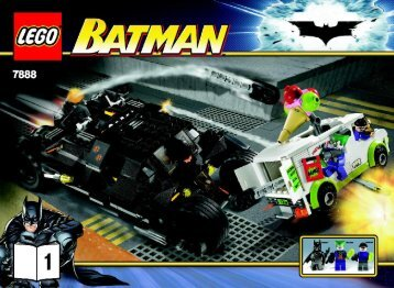 Lego The Tumbler™: Joker's Ice Cream Surprise 7888 - The Tumbler™: Joker's Ice Cream Surprise 7888 Building Inst. No.1 -7888 - 1