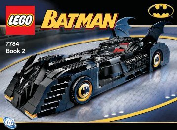 Lego The Batmobile™: Ultimate Collectors' Edi 7784 - The Batmobile™: Ultimate Collectors' Edi 7784 Bi 7784 Na 2/2 - 3