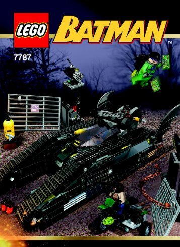 Lego The Bat-Tank™: The Riddler™ and Bane's H 7787 - The Bat-Tank™: The Riddler™ And Bane's H 7787 Bi, 7787 - 1