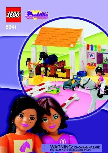 Lego Riding School 5941 - Riding School 5941 Bi, 5941 Na - 2