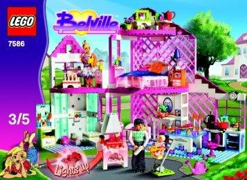 Lego Sunshine Home 7586 - Sunshine Home 7586 Building Instr. 7586, 3/5 V29 - 5
