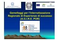 l'Internalizzazionel (A.G.I.R.E