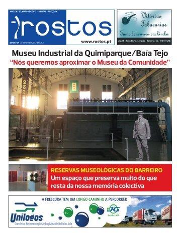 Museu Industrial da Quimiparque/Baía Tejo