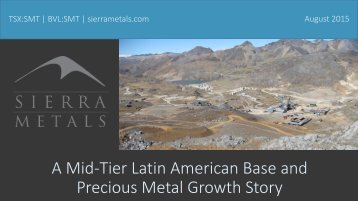 Precious Metal Growth Story