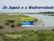 Os Sapais e a Biodiversidade