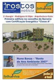 """Nuno Banza - """"Rosto do Ano Ambiente 2007"""""""