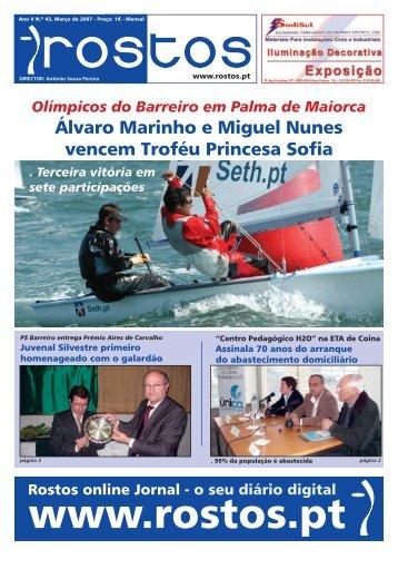 Álvaro Marinho e Miguel Nunes vencem Troféu Princesa Sofia