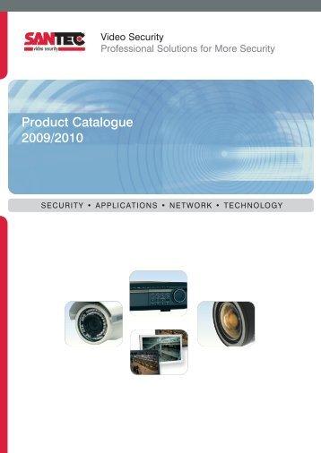 Product Catalogue 2009/2010