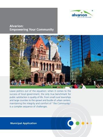 Alvarion Empowering Your Community