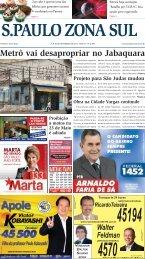 Download PDF - Jornal São Paulo Zona Sul