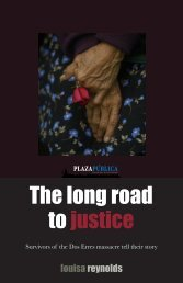 The long road to justice
