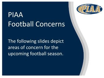 Football Concerns
