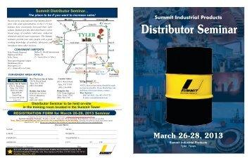 Distributor Seminar