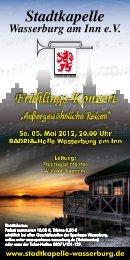 Stadtkapelle Wasserburg am Inn eV