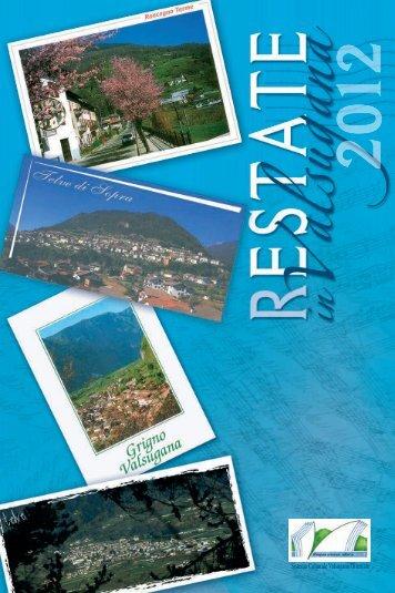 Depliant (FILE PDF) - Sistema Culturale Valsugana Orientale