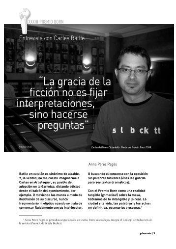"""ficción no es fijar interpretaciones sino hacerse preguntas"""""""