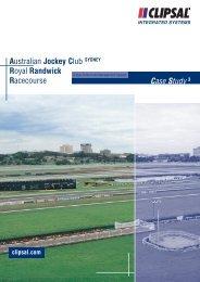 Australian Jockey Club Royal Randwick Racecourse Case Study
